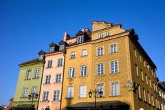 Alte Stadt in Warschau Stockfotos