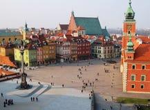 Alte Stadt in Warschau Stockfoto