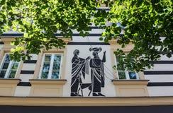 Alte Stadt in Warschau Stockfotografie