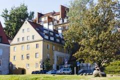 Alte Stadt in Warschau, Polen Lizenzfreie Stockfotos