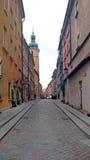 ALTE STADT - WARSCHAU - POLEN Stockfotografie