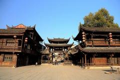 Alte Stadt Xiangxi FuRong Stockbild