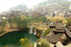 Alte Stadt Xiangxi FuRong Lizenzfreies Stockfoto