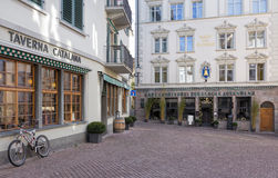 Alte Stadt Zürichs Stockfotos