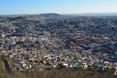 Alte Stadt Zacatecas in Mexiko lizenzfreies stockbild