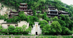 Alte Stadt Zhenyuan Stockfoto