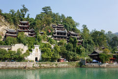 Alte Stadt Zhenyuan in Guizhou China Stockbild