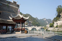 Alte Stadt Zhenyuan in Guizhou China Lizenzfreies Stockbild
