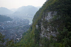 Alte Stadt Zhenyuan in Guizhou China Stockfotos
