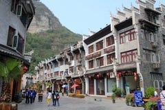 Alte Stadt Zhenyuan in Guizhou-Porzellan Lizenzfreie Stockfotos