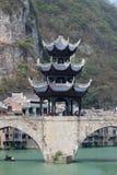 Alte Stadt Zhenyuan in Guizhou-Porzellan Lizenzfreies Stockfoto