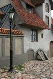 Alte Stadtansicht Lizenzfreies Stockfoto