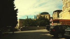 Alte Stadtansicht, Baku Lizenzfreie Stockfotos