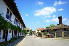 Alte Stadtansicht, Bulgarien Stockbild