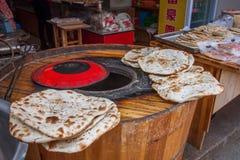 Alte Stadteinkaufsstraße Wujiang Tongli Lizenzfreie Stockfotos