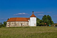 Alte Stadtfestung in Durdevac, Kroatien Lizenzfreies Stockfoto
