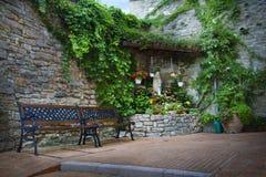Alte Stadtgasse in Toskana - Assisi Lizenzfreie Stockfotografie