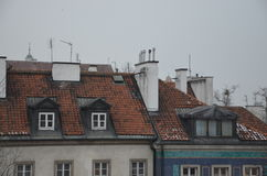 Alte Stadtgebäude Lizenzfreie Stockbilder
