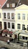 Alte Stadthäuser Stockfotos