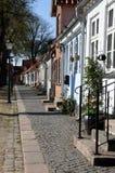 Alte Stadthäuser Stockfoto