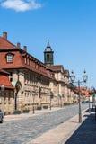 Alte Stadthistorische Gebäude Bayreuths Lizenzfreie Stockfotografie