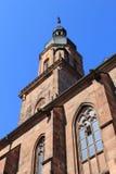 Alte Stadtkirche Heidelbergs Stockbilder