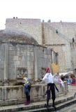 Alte Stadtmarksteine, Dubrovnik Lizenzfreie Stockfotos
