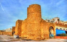 Alte Stadtmauern von Safi, Marokko lizenzfreies stockbild