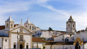 Alte Stadtmitte in Lagos, Algarve Lizenzfreie Stockfotos