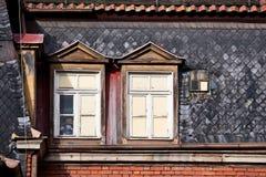 Alte Stadtserie Stockbilder