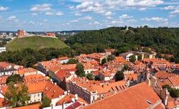 Alte Stadtskyline Vilnius Stockbilder