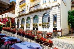 Alte Stadtstraße Belgrads Serbien Lizenzfreies Stockbild