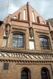 Alte Stadtszene, Vilnius, Litauen Lizenzfreies Stockfoto