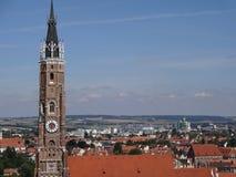 Alte Stadtuhr Stockfotos