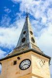 Alte Stadtuhr, Schottland Lizenzfreie Stockfotografie