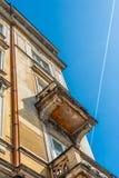 Alte Stadtwohnung Lizenzfreies Stockbild