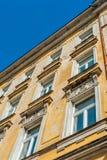 Alte Stadtwohnung Lizenzfreie Stockfotografie