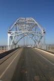 Alte Stahlbrücke Stockfotografie