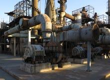 Alte Stahlfabrik lizenzfreies stockfoto