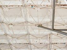 Alte Stahlkonstruktion Stockbild