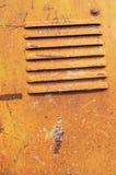 Alte Stahlplatte stockbilder