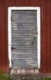 Alte Stall-Tür Lizenzfreies Stockfoto