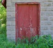 Alte Stall-Tür Stockfotografie