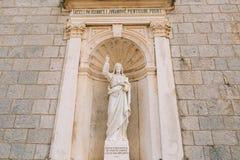 Alte Statue auf dem Gebiet der Kirche der Geburt Christi von Lizenzfreie Stockbilder