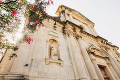 Alte Statue auf dem Gebiet der Kirche der Geburt Christi von Lizenzfreies Stockbild