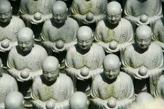 Alte Statue des Mönchs Lizenzfreies Stockfoto
