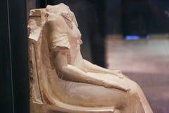 Alte Statue an Luxor-Museum - Ägypten lizenzfreie stockbilder