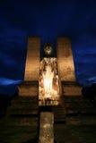 Alte Statue in Sukhothai Lizenzfreie Stockfotos