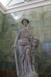 Alte Statue von Melpomene Stockfotografie