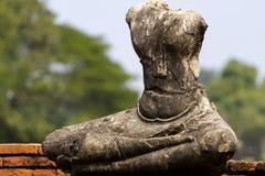 Alte Statue zerstört vom Feind Stockfotos